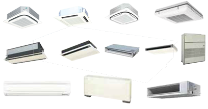 VRV indoor units